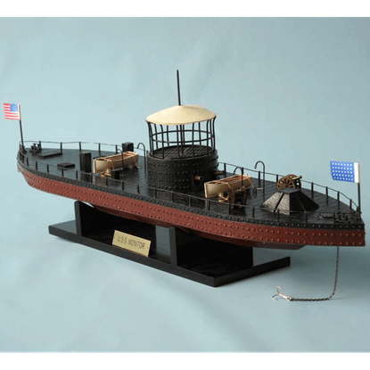 Limited Edition USS Monitor Model Ship