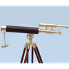 Brass and Leather Griffith Astro Telescope