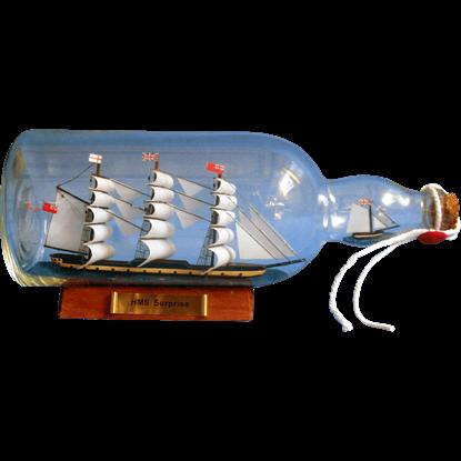 HMS Surprise Ship in a Bottle