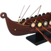 14-Inch Drakkar Viking Longship Model
