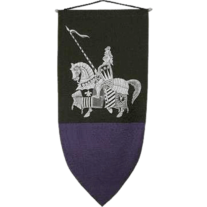 Gallant Knight In Armour Banner