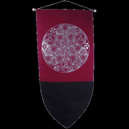 Celtic Triscele Banner