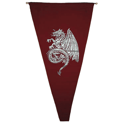 Celtic Dragon Pennant
