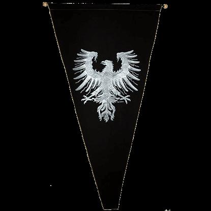 Heraldic Eagle Pennant