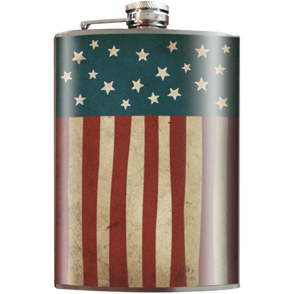 Old Glory Flask