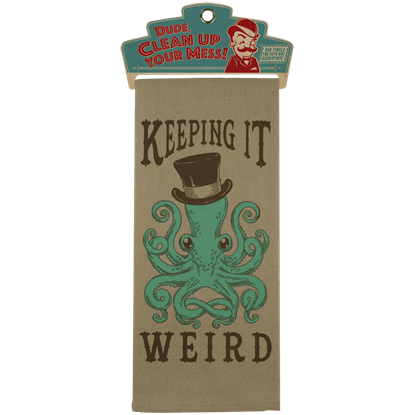 Gentleman Octopus Bar Towel