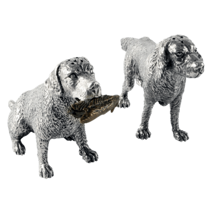 Hunting Dogs Salt and Pepper Shakers