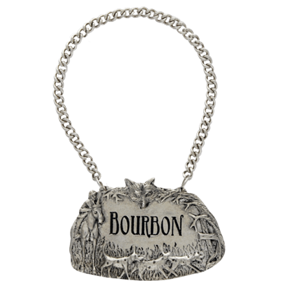 Morning Hunt Bourbon Decanter Tag