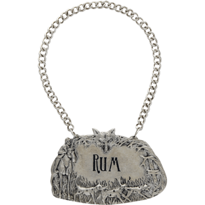 Morning Hunt Rum Decanter Tag