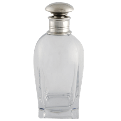 Classic Pewter Top Short Decanter