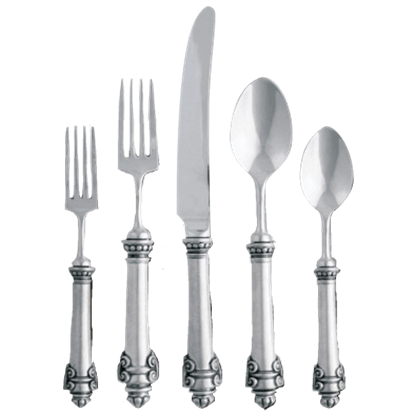 5 Piece Medici Flatware Set