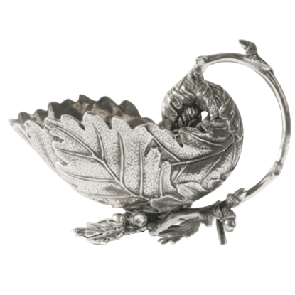 Acorn and Oak Leaf Gravy Boat