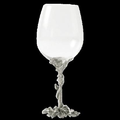 Acorn and Oak Leaf Bordeaux Glass