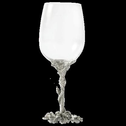 Acorn and Oak Leaf Red Wine Glass