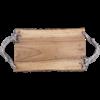 Natural Tree Bark Cheese Board