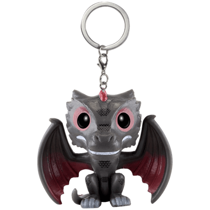Game of Thrones Drogon Pocket POP Keychain