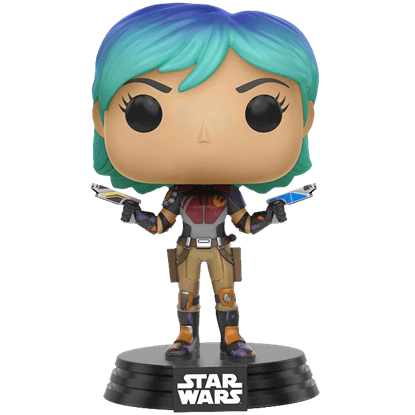 Star Wars Rebels Sabine Wren POP Bobblehead