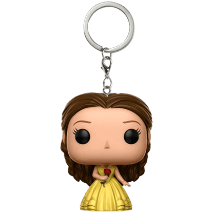 Beauty and the Beast Belle Yellow Gown POP Keychain
