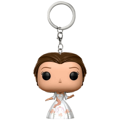 Beauty and the Beast Belle Celebration POP Keychain