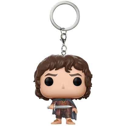Frodo Baggins Pocket POP Keychain