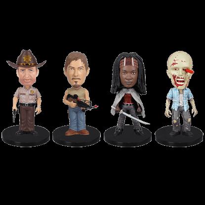 Walking Dead Mini Wacky Wobbler Set
