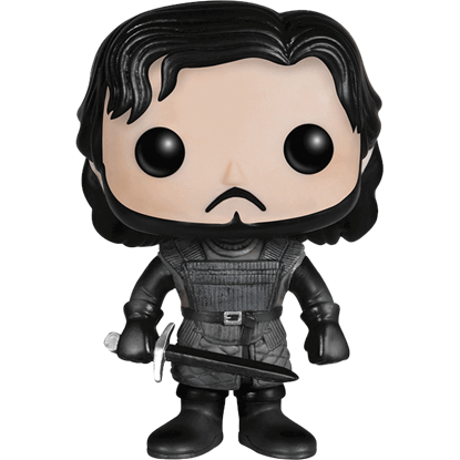 Game of Thrones Castle Black Jon Snow POP Figure