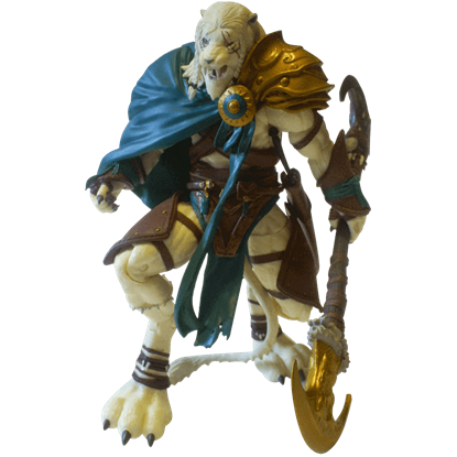 Magic the Gathering Ajani Goldmane Legacy Figure