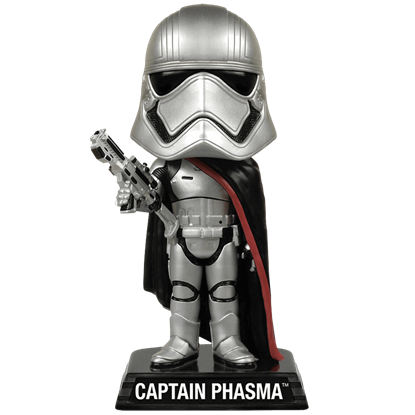 Star Wars Captain Phasma Wacky Wobbler