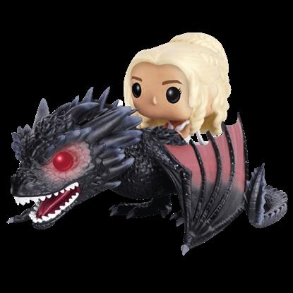 Daenerys and Drogon POP Figure