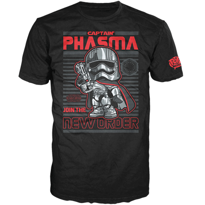 Captain Phasma Poster T-Shirt