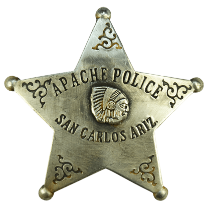 Arizona Apache Police Badge