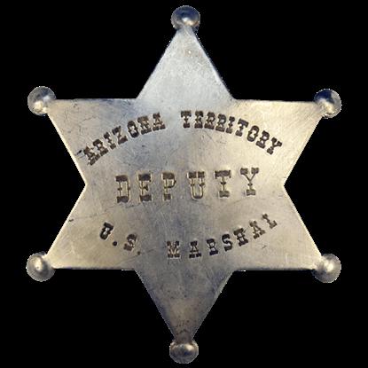AZ Territory Deputy U.S. Marshal Badge