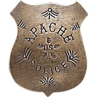 Apache Police Badge