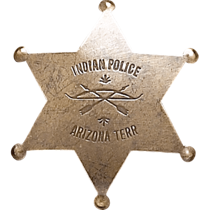 Arizona Indian Police Badge
