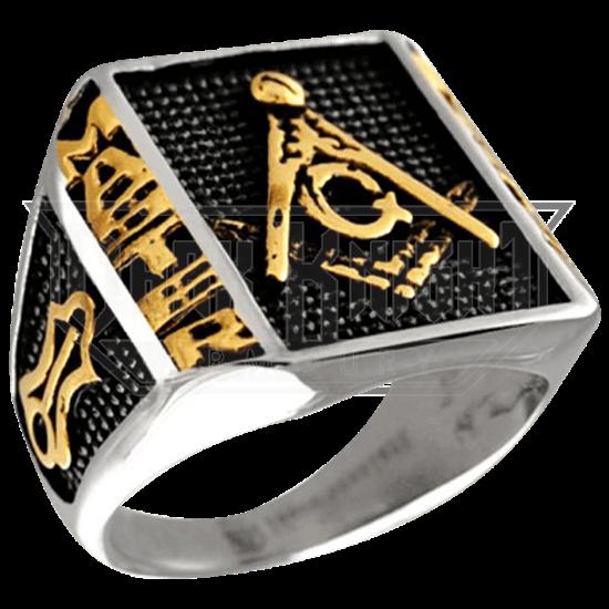 Craft Lodge Freemasonry Signet Ring