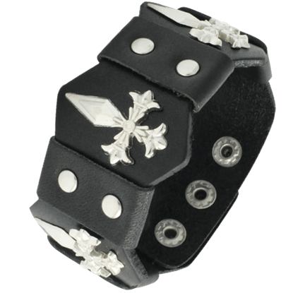 Dagger Cross Wristband