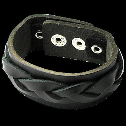 Braided Gothic Bracelet