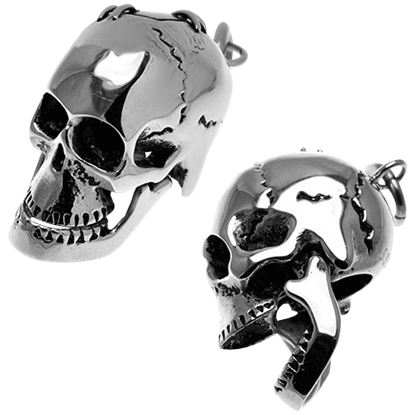Articulated Skull Pendant