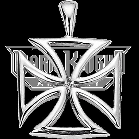 Crusader Maltese Cross Pendant