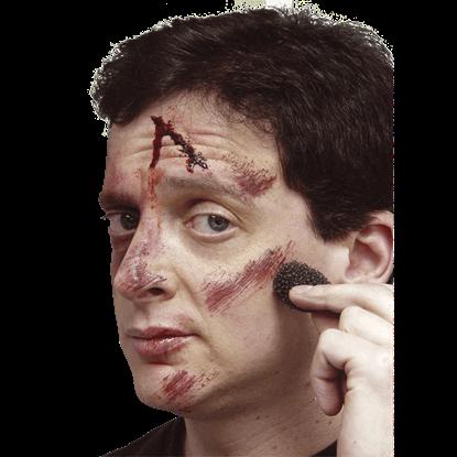 Bruised Red Cream Makeup
