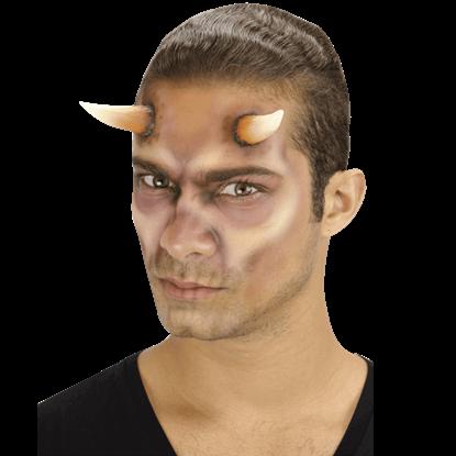 Demon Horns Foam Prosthetic
