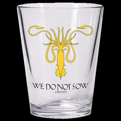 Game of Thrones Greyjoy Sigil Shot Glass