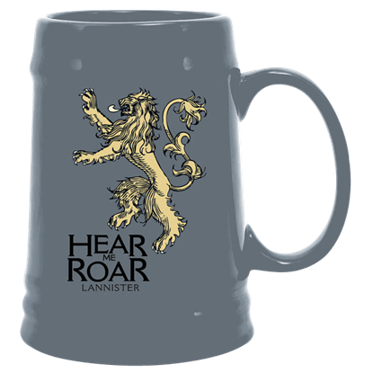 Game of Thrones Lannister Sigil Ceramic Stein