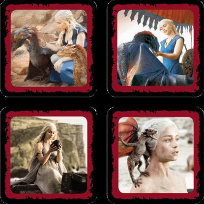 Daenerys Targaryen Coaster Set