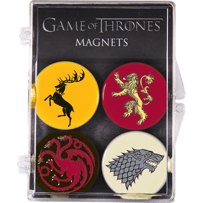 Game of Thrones Magnet 4-Pack