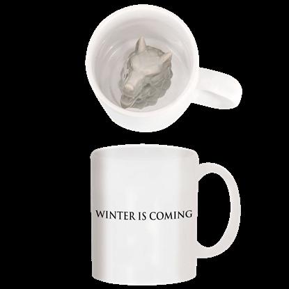 Stark Direwolf Drinking Mug