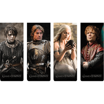Magnetic Game of Thrones Bookmark Set