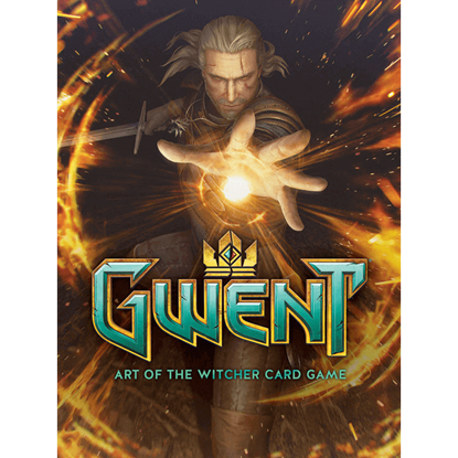 Gwent Art Of The Witcher Card Game Hardcover Book