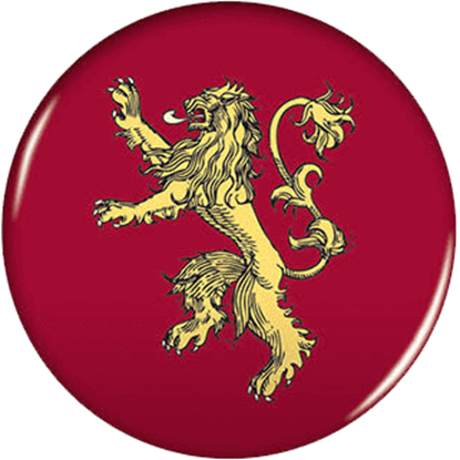 Game of Thrones House Lannister Magnet