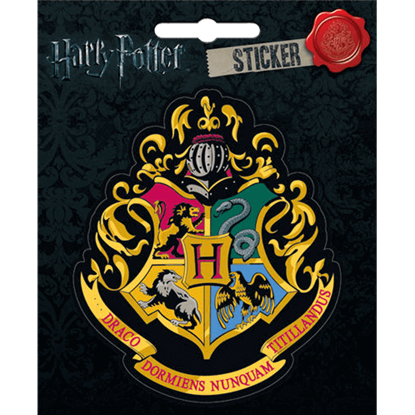 Hogwarts School of Witchcraft and Wizardry Crest Sticker